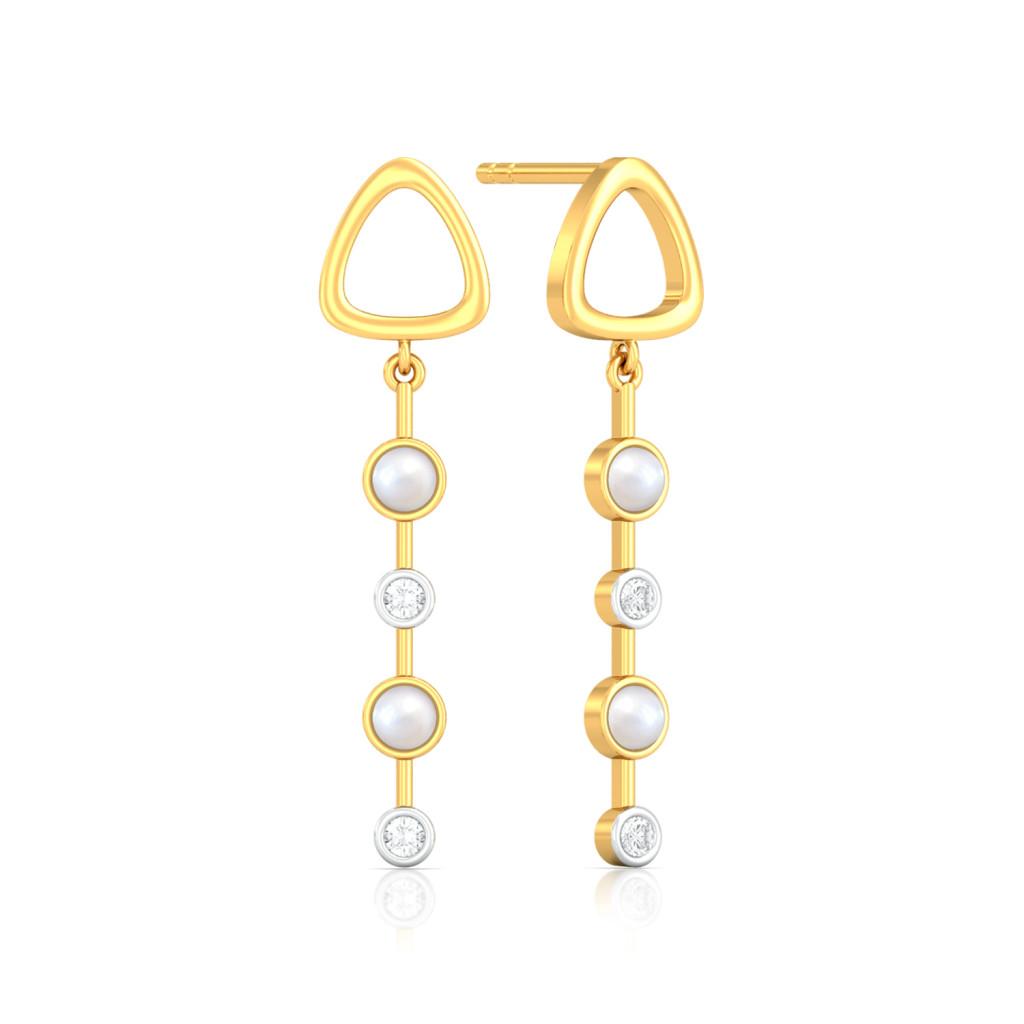 Style Drops Diamond Earrings