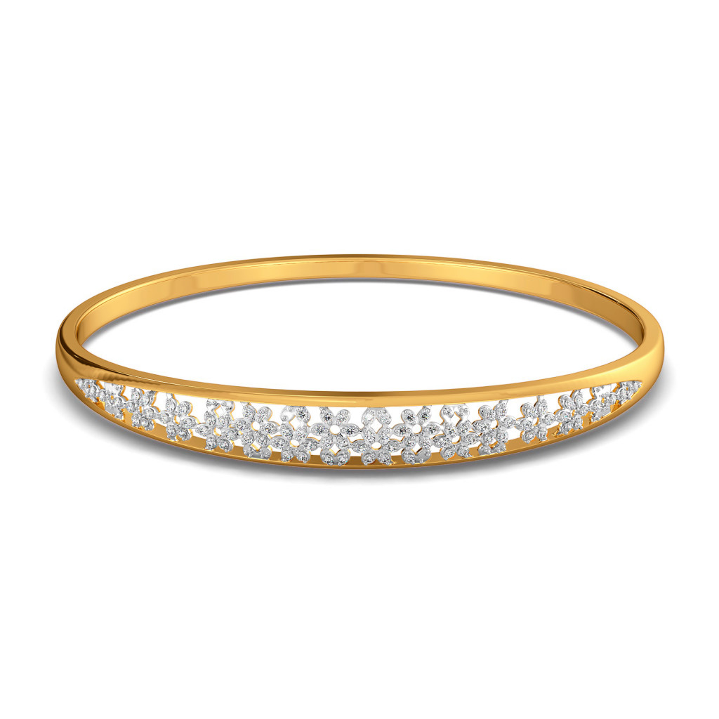 Ace of Lace Diamond Bangles