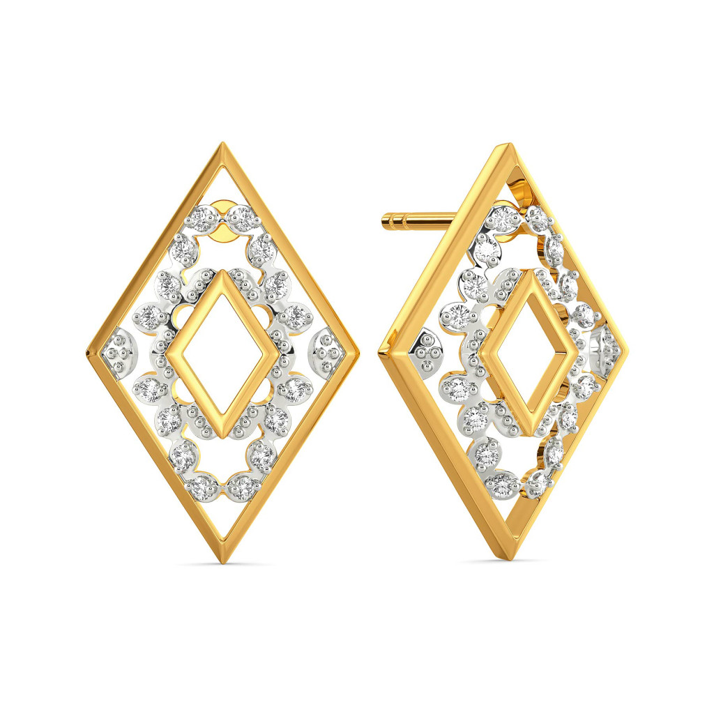 Lace Love Diamond Earrings