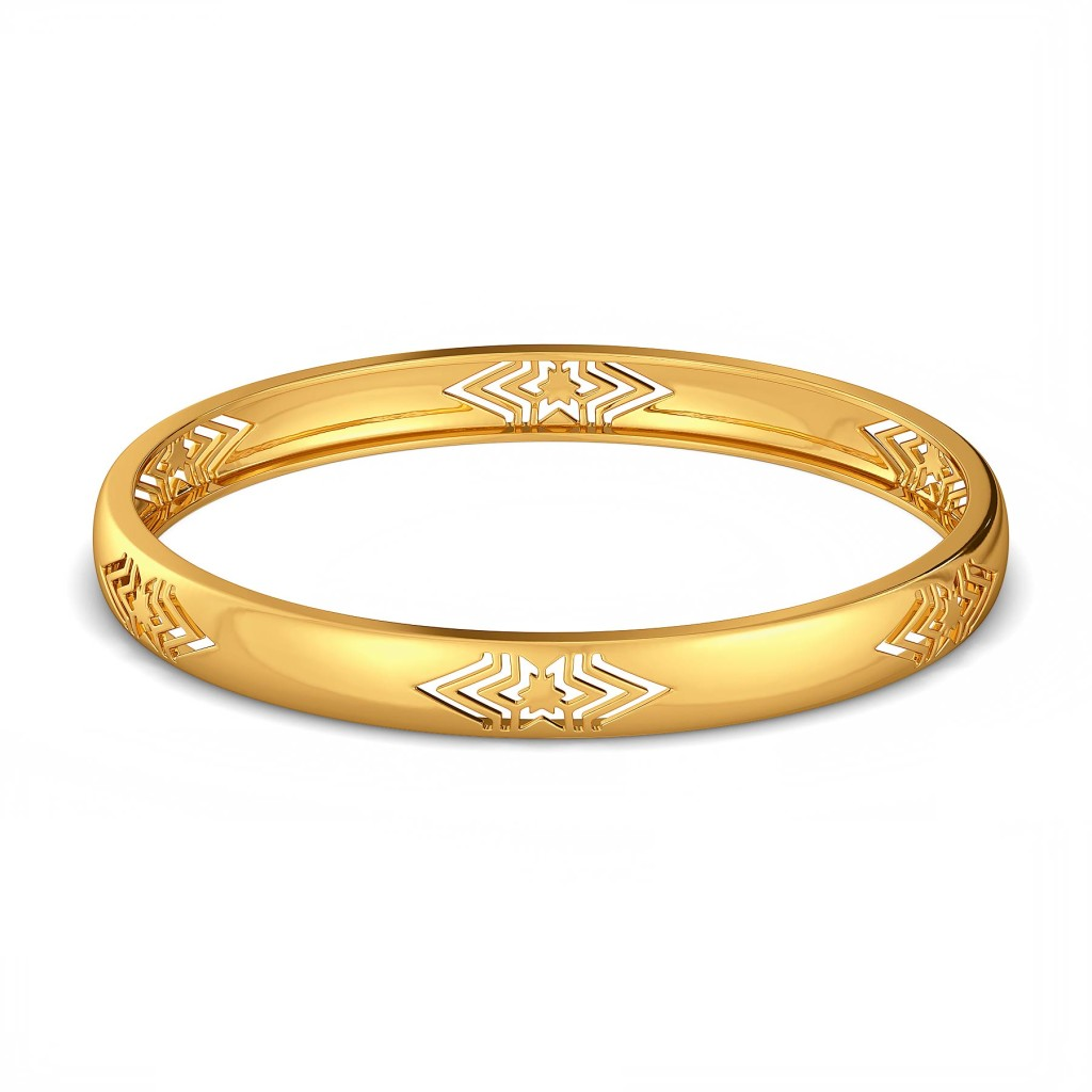 Golden Trio Gold Bangles