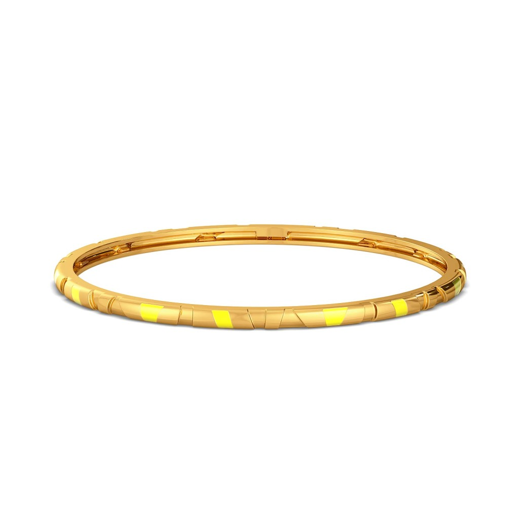 Slice of Pine Gold Bangles