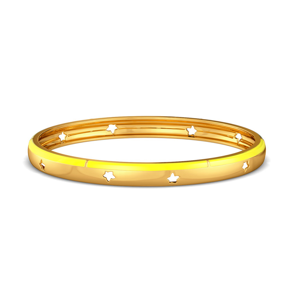 Fruity Fission Gold Bangles