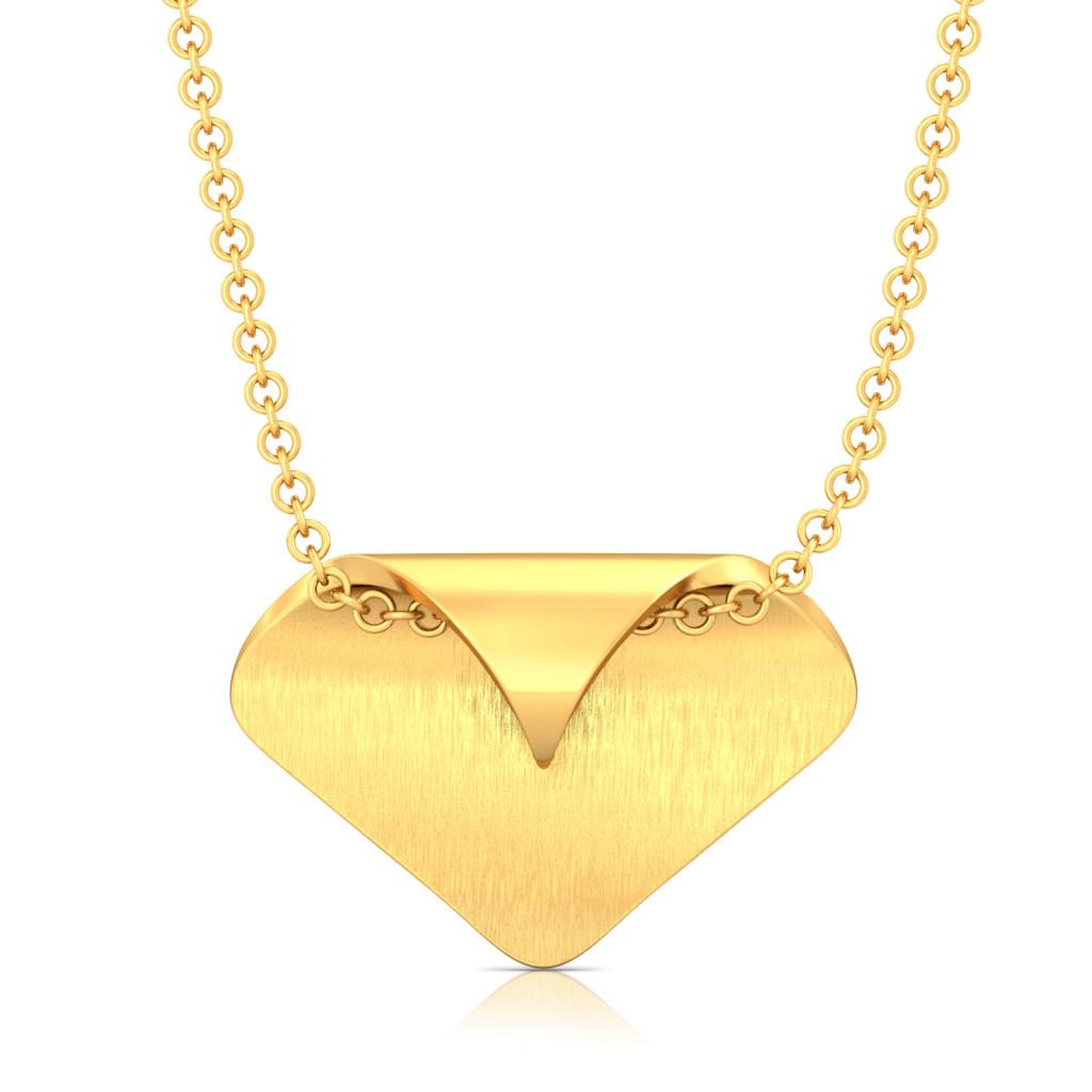 Mint Play Gold Pendants