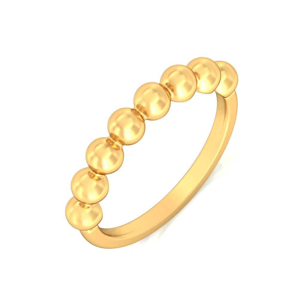 Spot the Dot Gold Rings