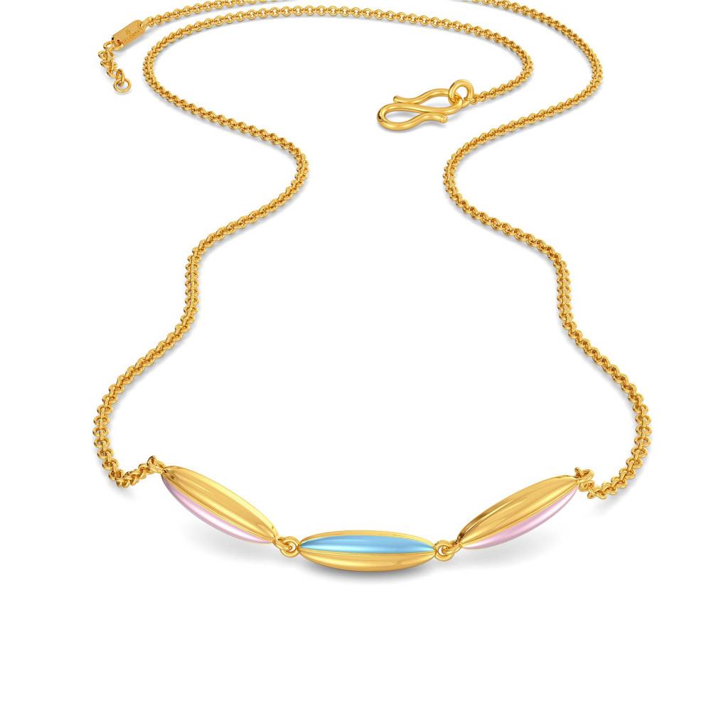 Caffe Crema Gold Necklaces