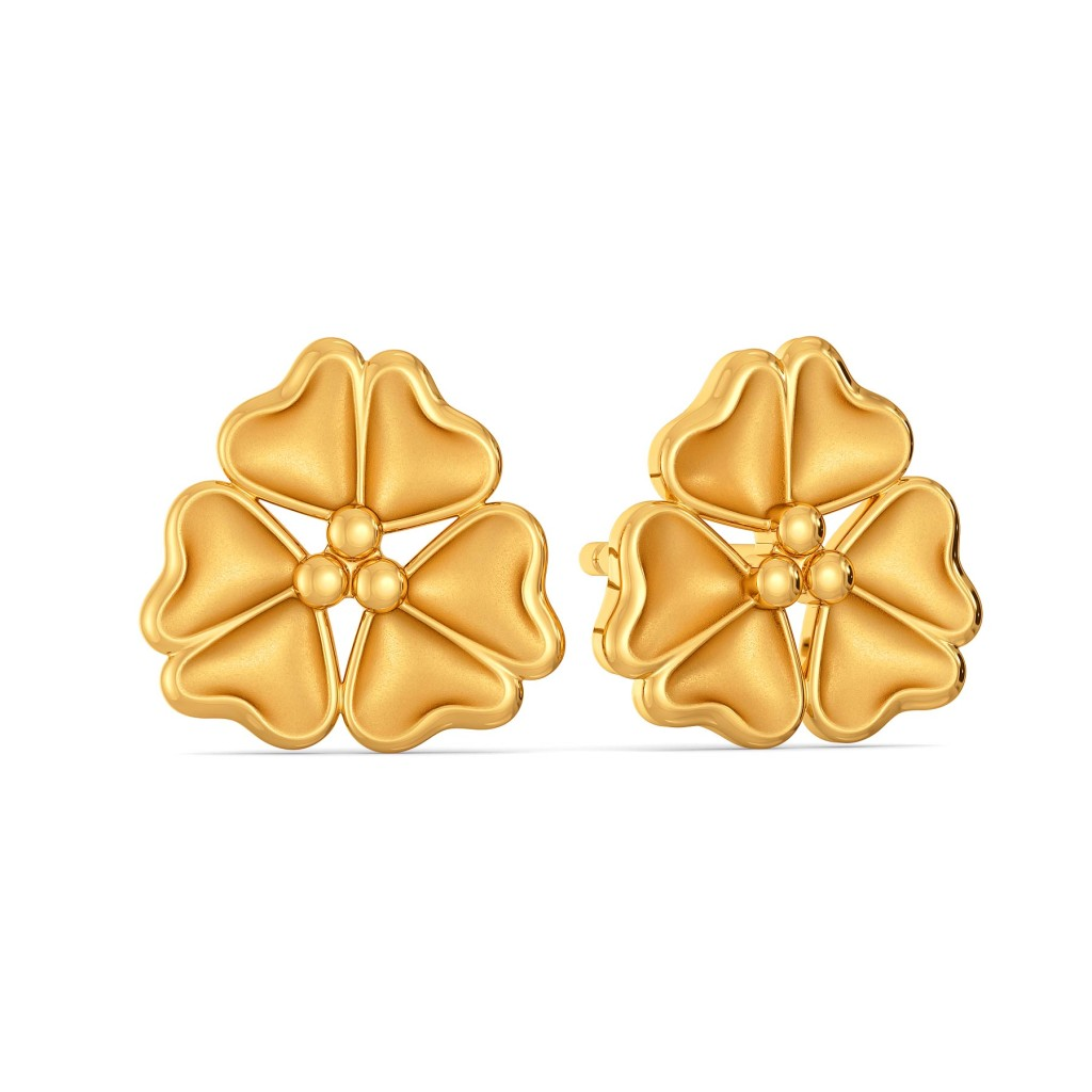 Mad about Autumn Gold Earrings