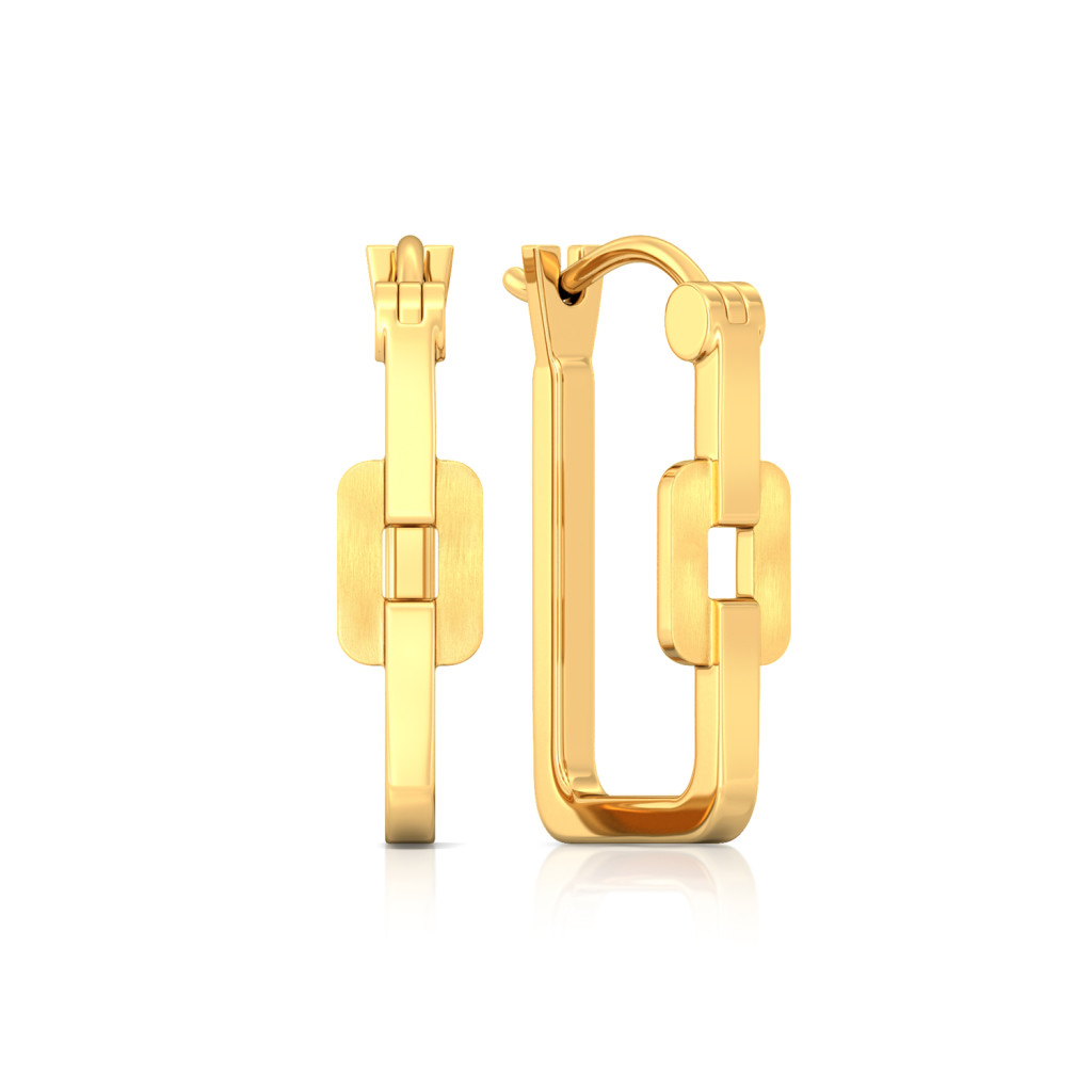 Linkin Gold Gold Earrings