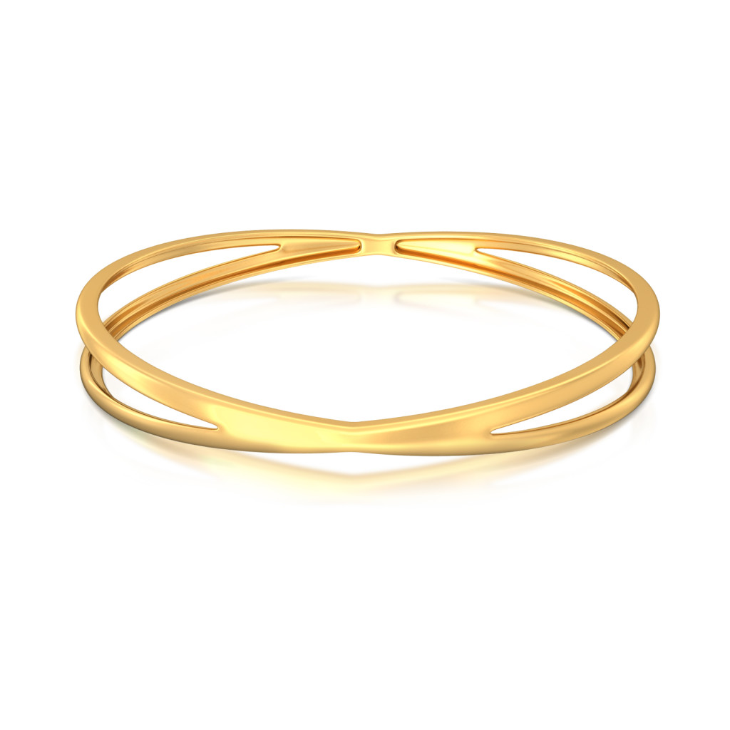 Cross Credit  Gold Bangles