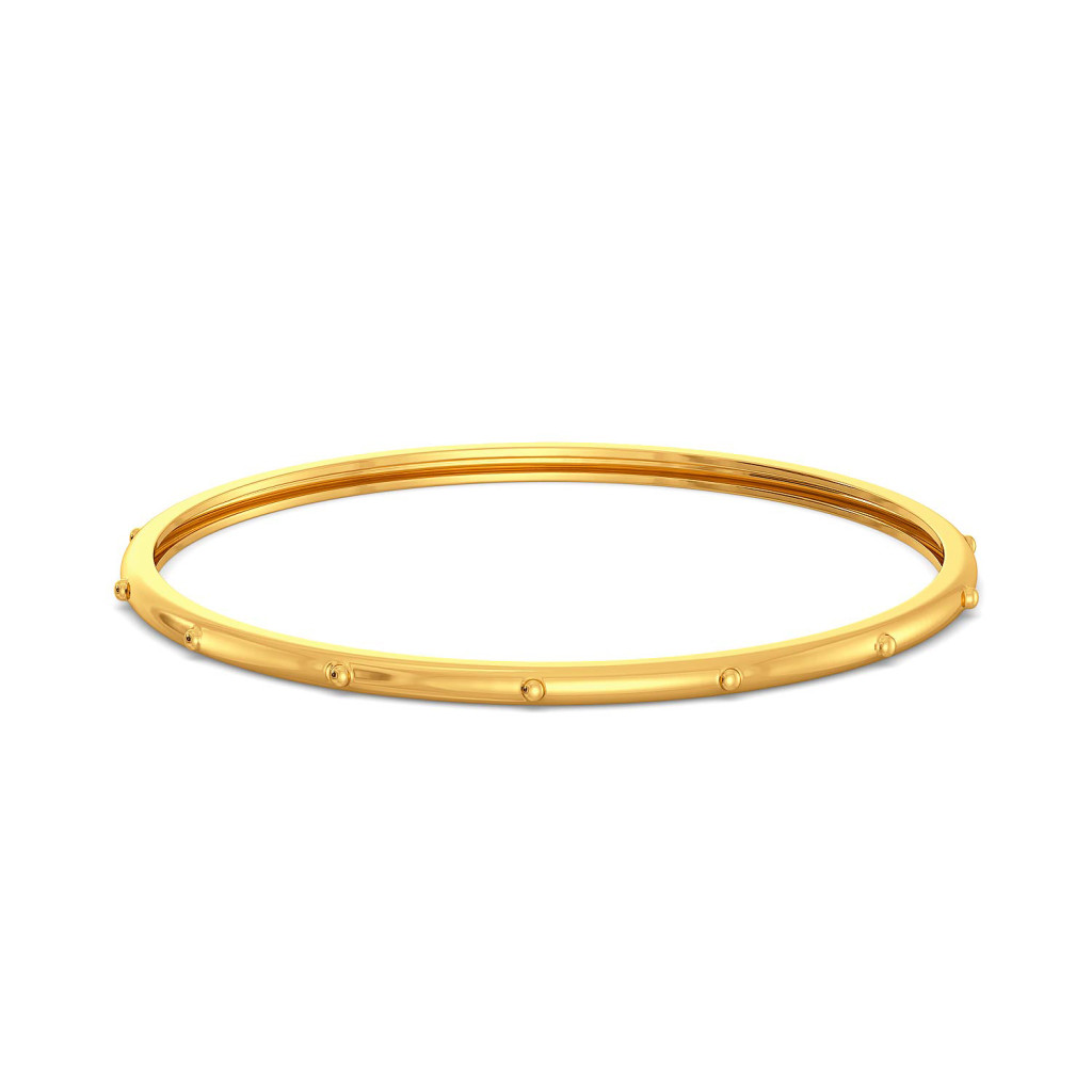 The Safari Saddle Gold Bangles