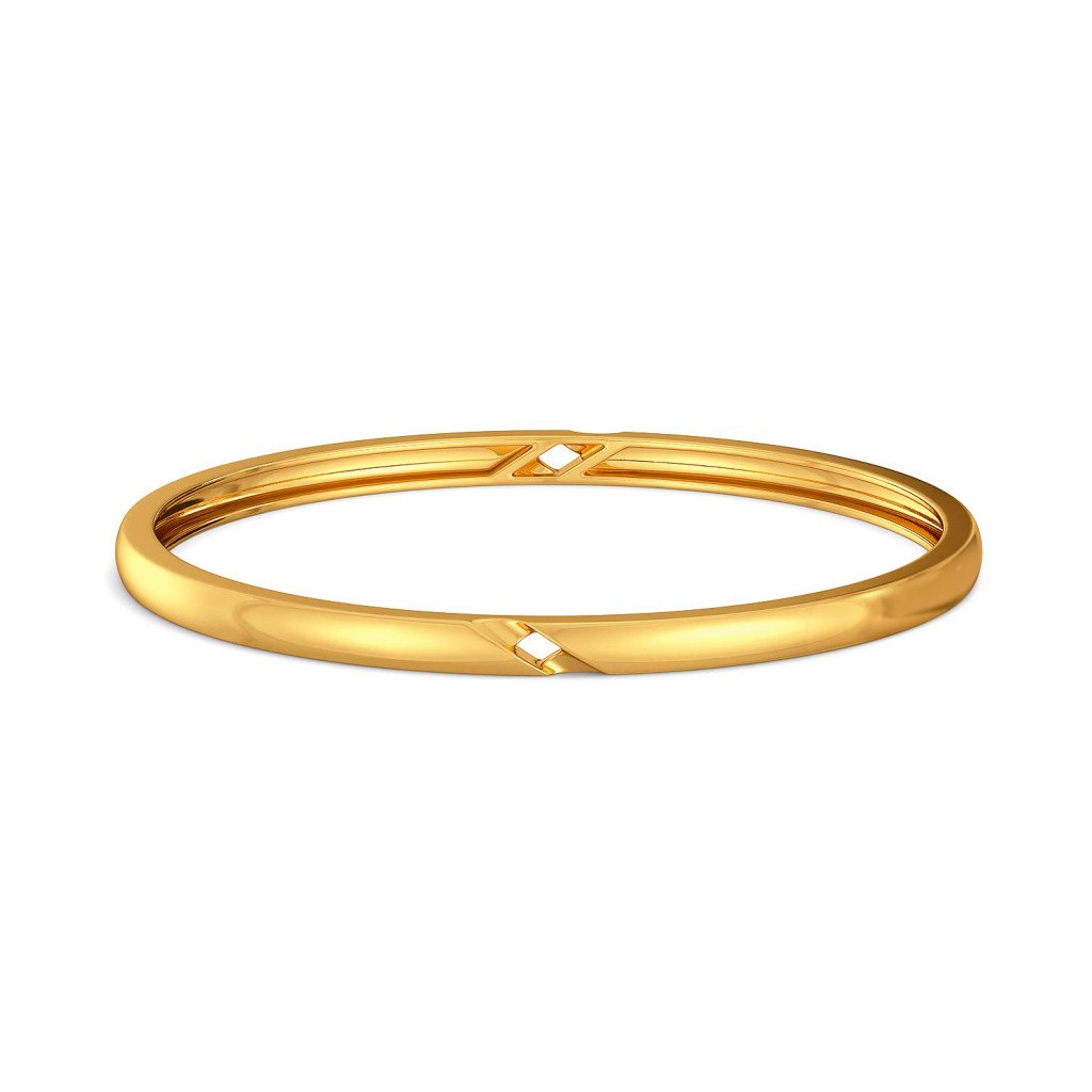 Sway Astray Gold Bangles
