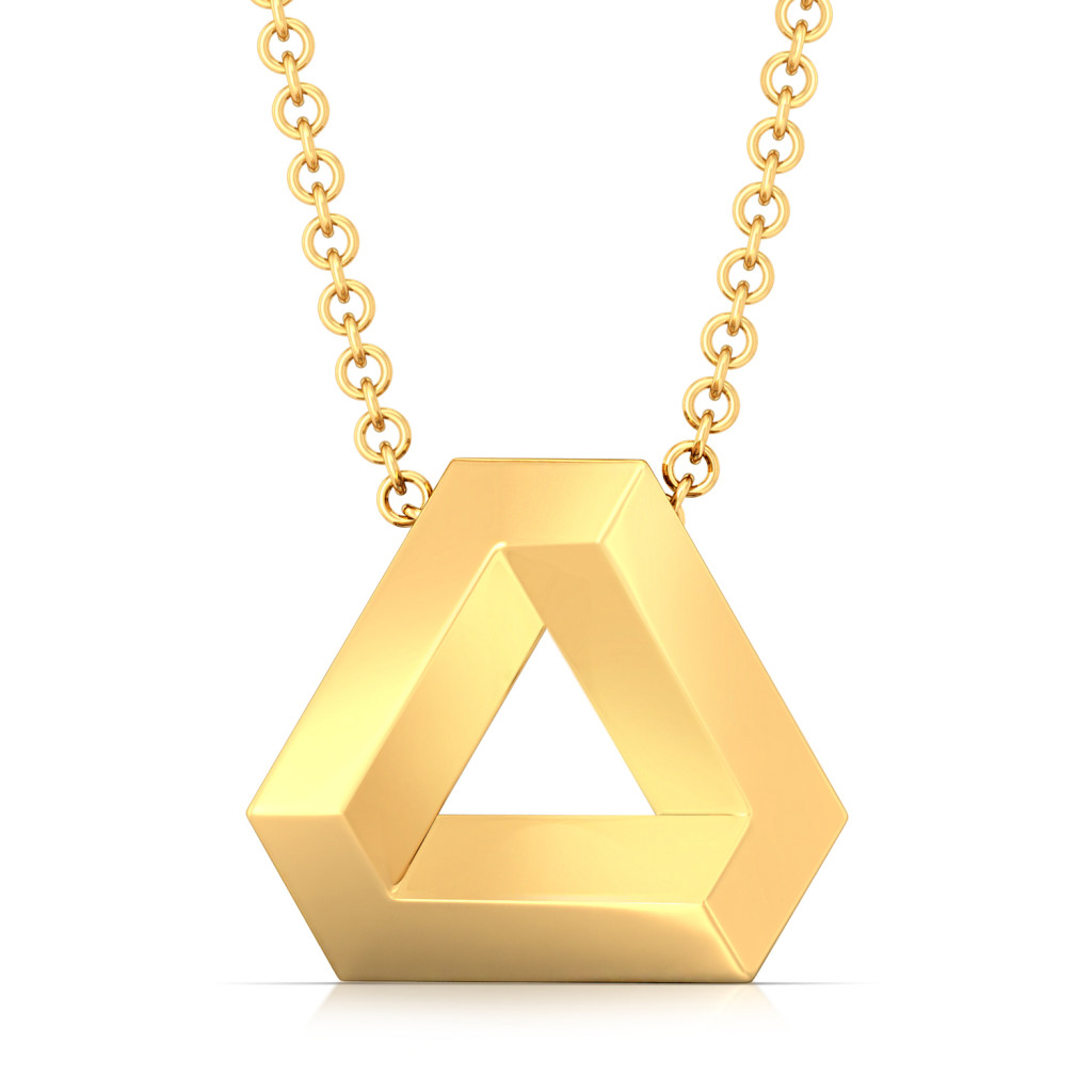 Binary Beauties Gold Pendants