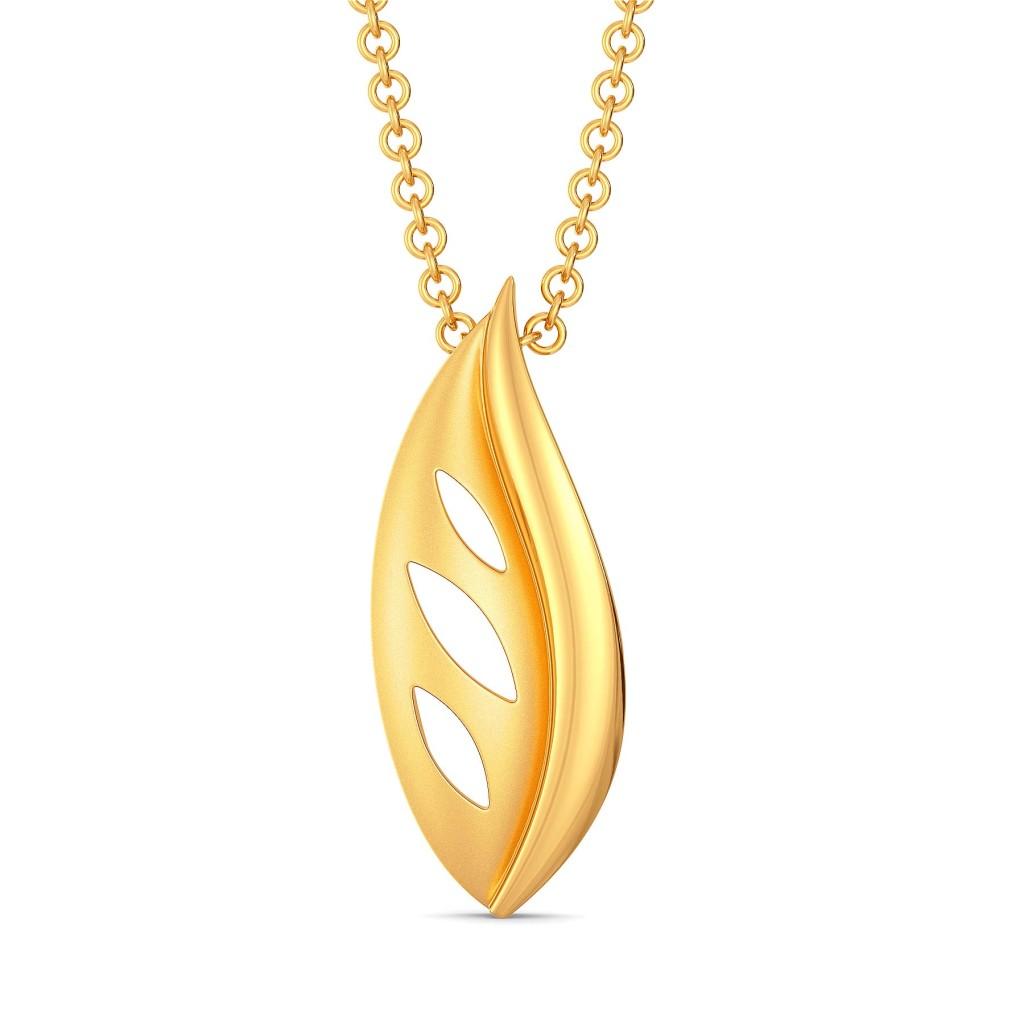 Happy Go Paisley Gold Pendants