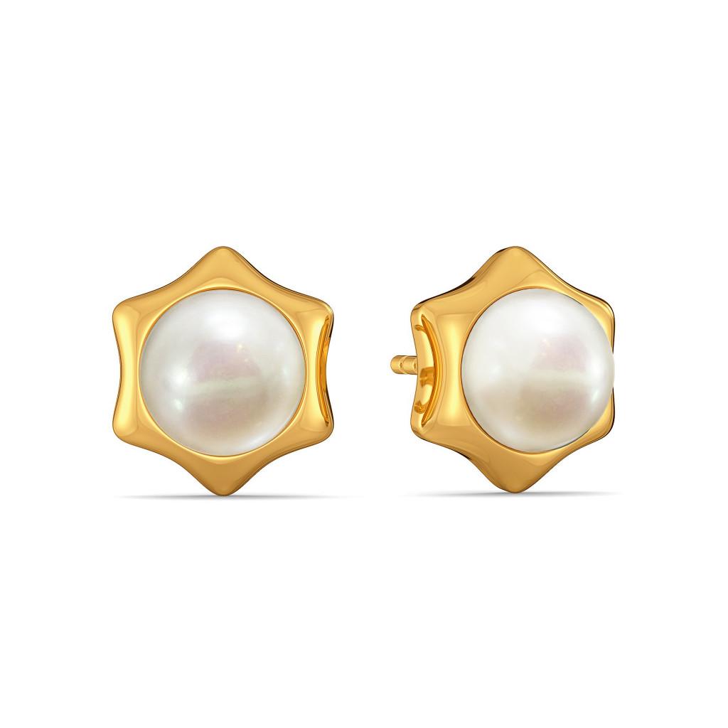 Pop of Polka Gemstone Earrings