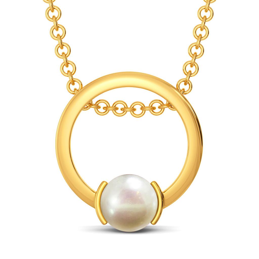 Pop A Pearl Gemstone Pendants