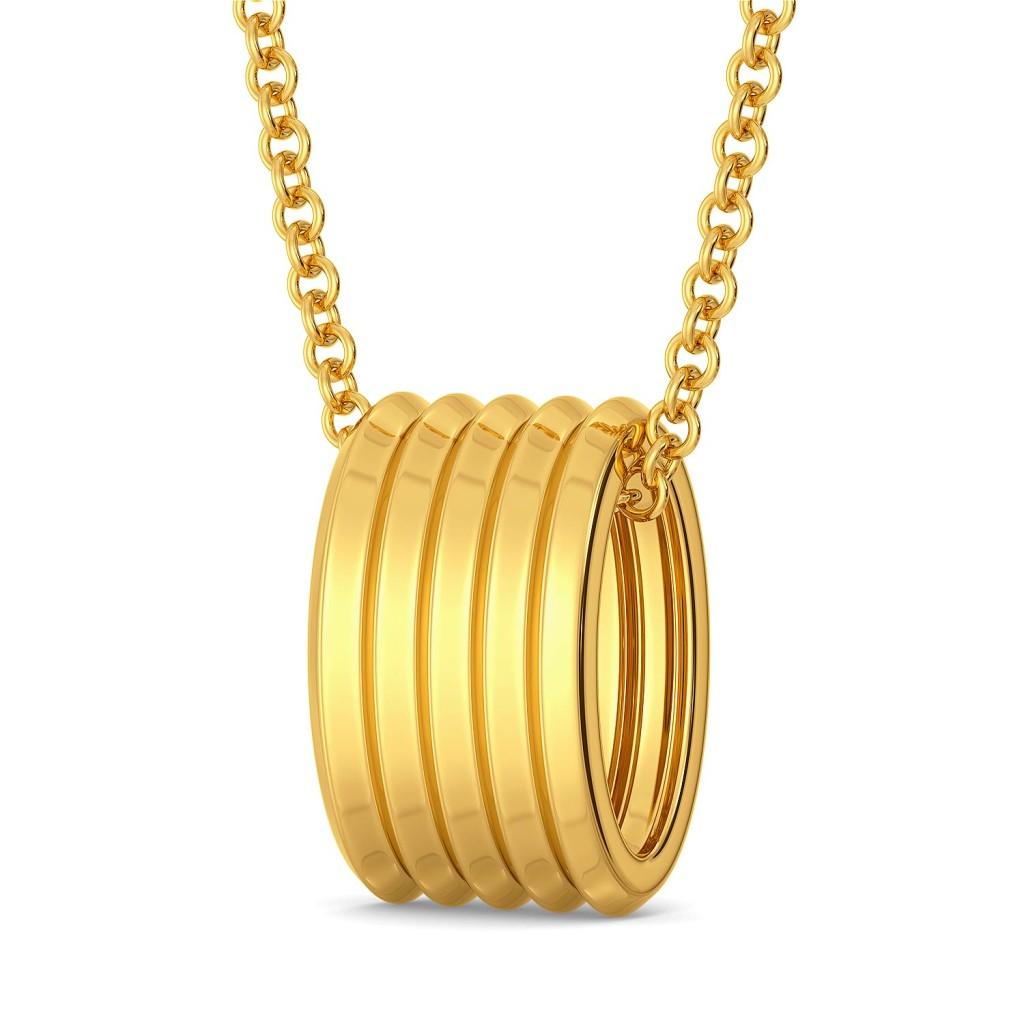D-tucks Gold Pendants