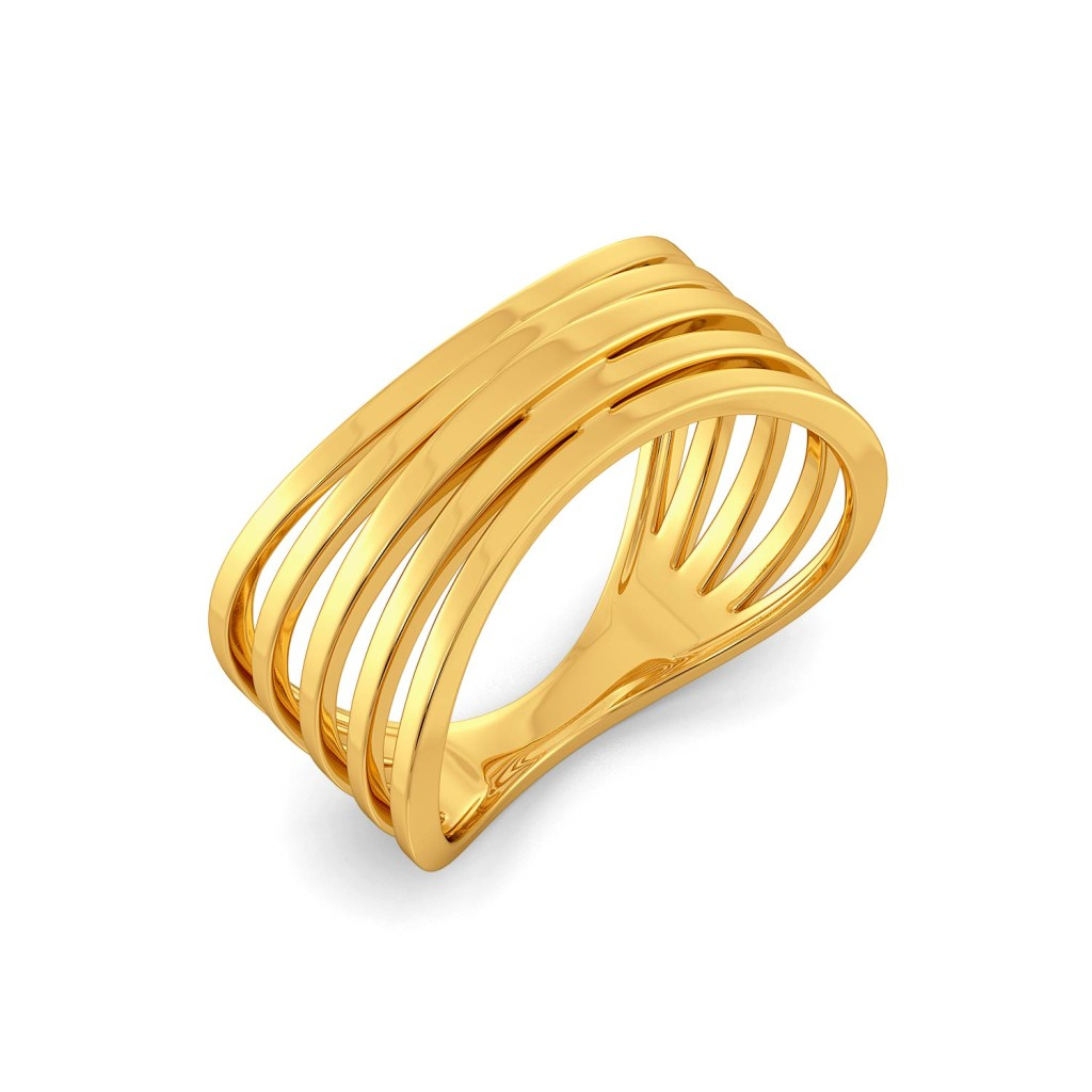 Bridge Ridge Gold Rings