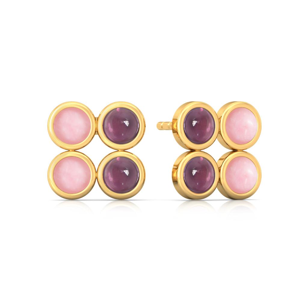Romantique Gemstone Earrings