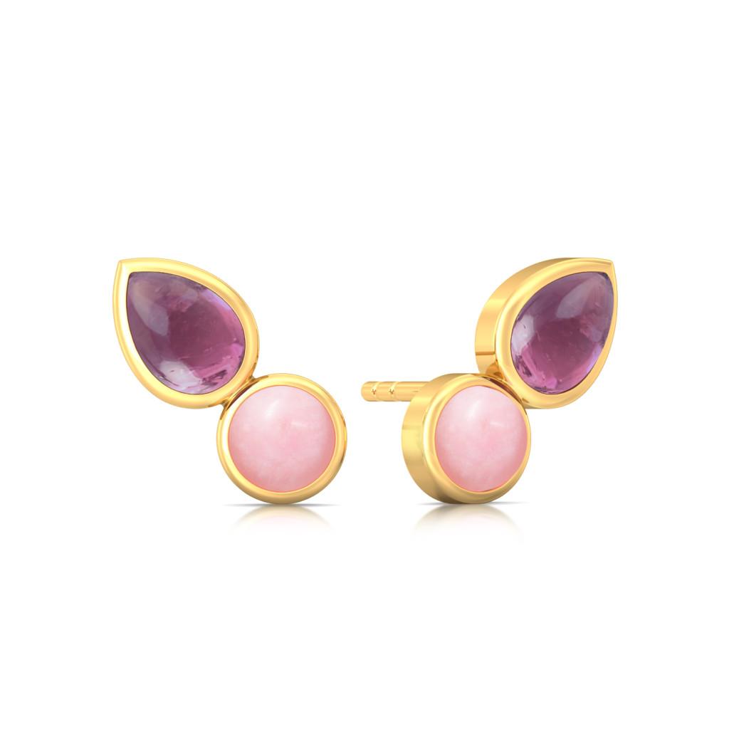 Sangria Summer Gemstone Earrings