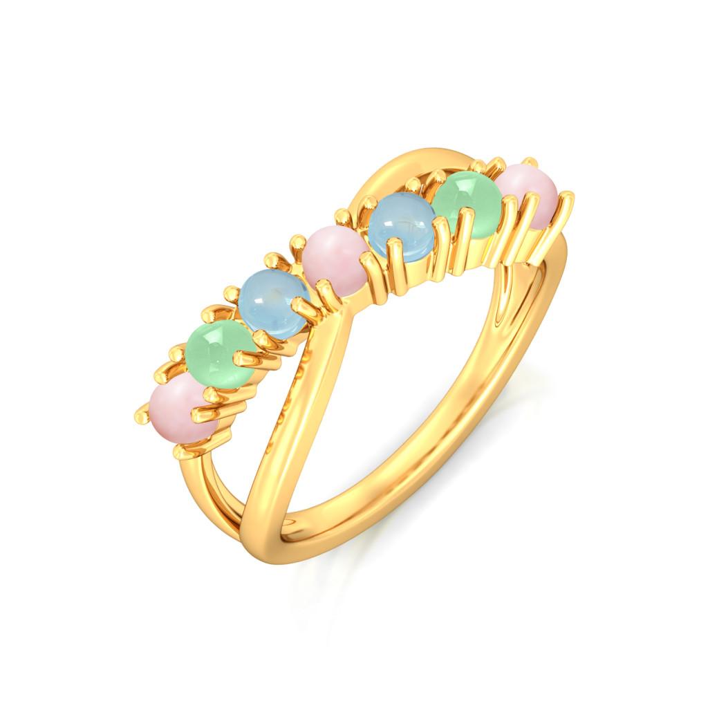 Soft Serve Gemstone Rings
