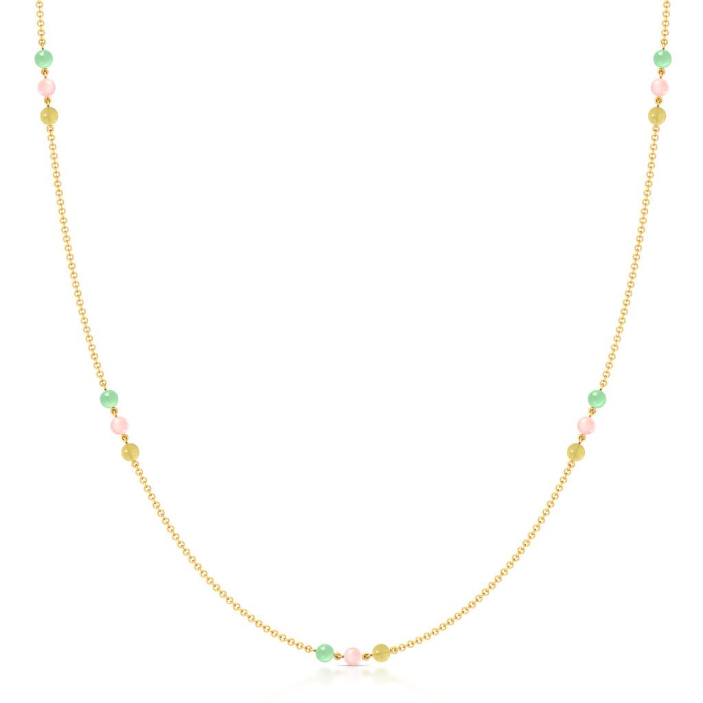 Cassatta Cream  Gemstone Necklaces