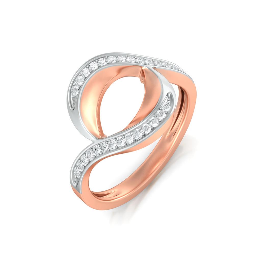 Peaks & Valleys Diamond Rings