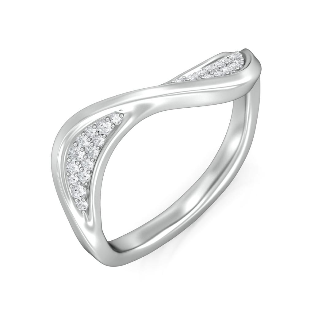 Maitake Diamond Rings