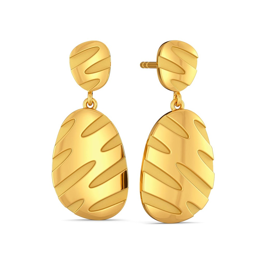 The Wild Tribe Gold Earrings
