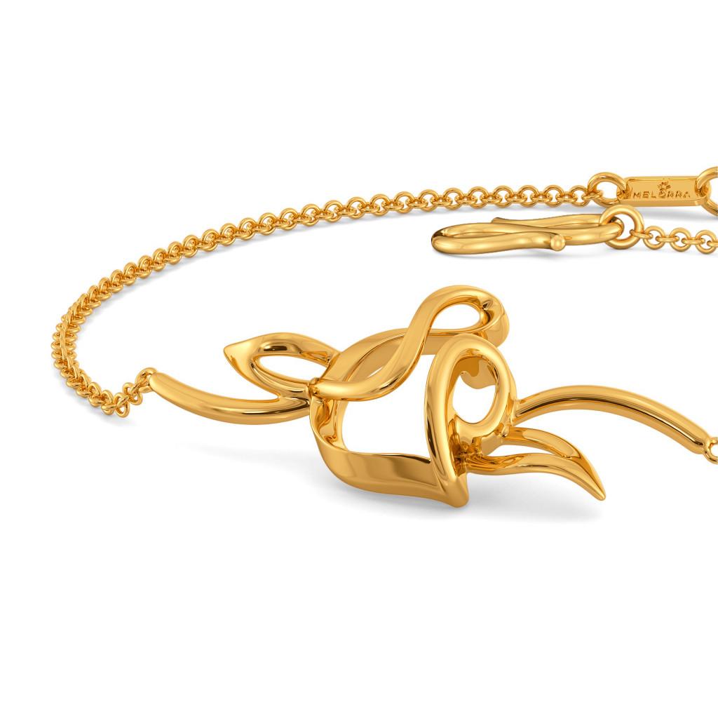 Gothic Glow Gold Bracelets