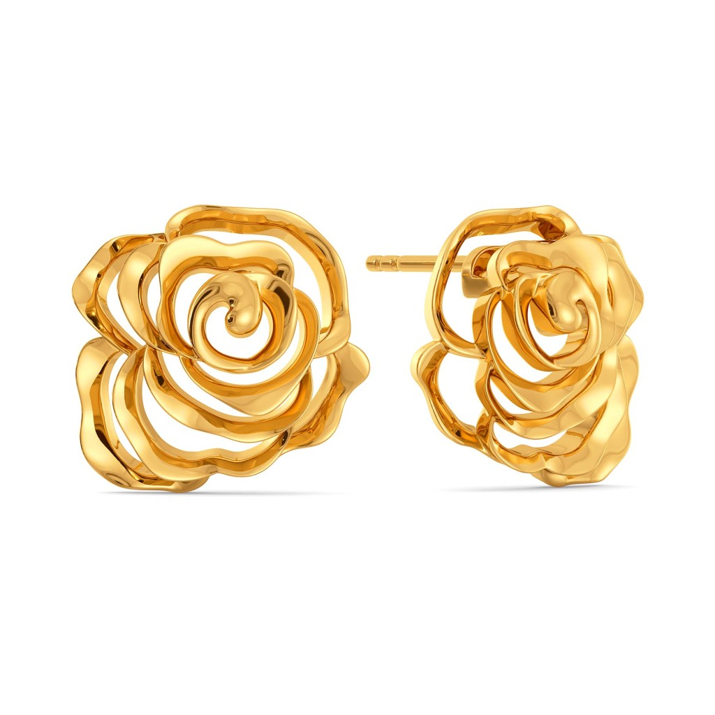Rose Riots Gold Earrings