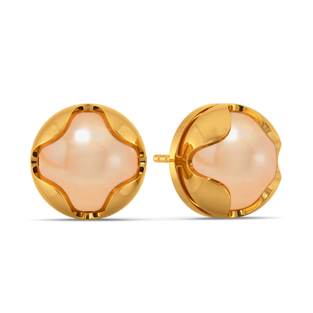 Sassy Sand Gemstone Earrings