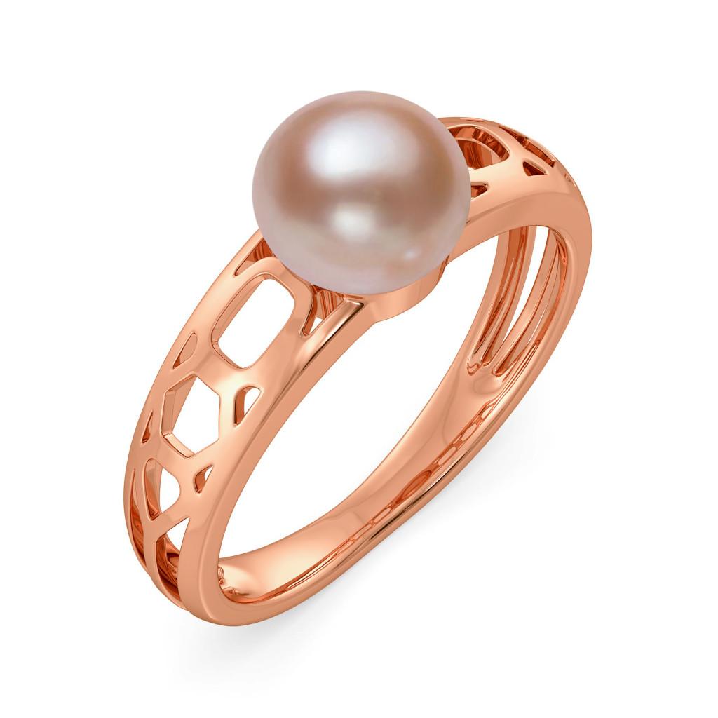 Beam in Beige Gemstone Rings