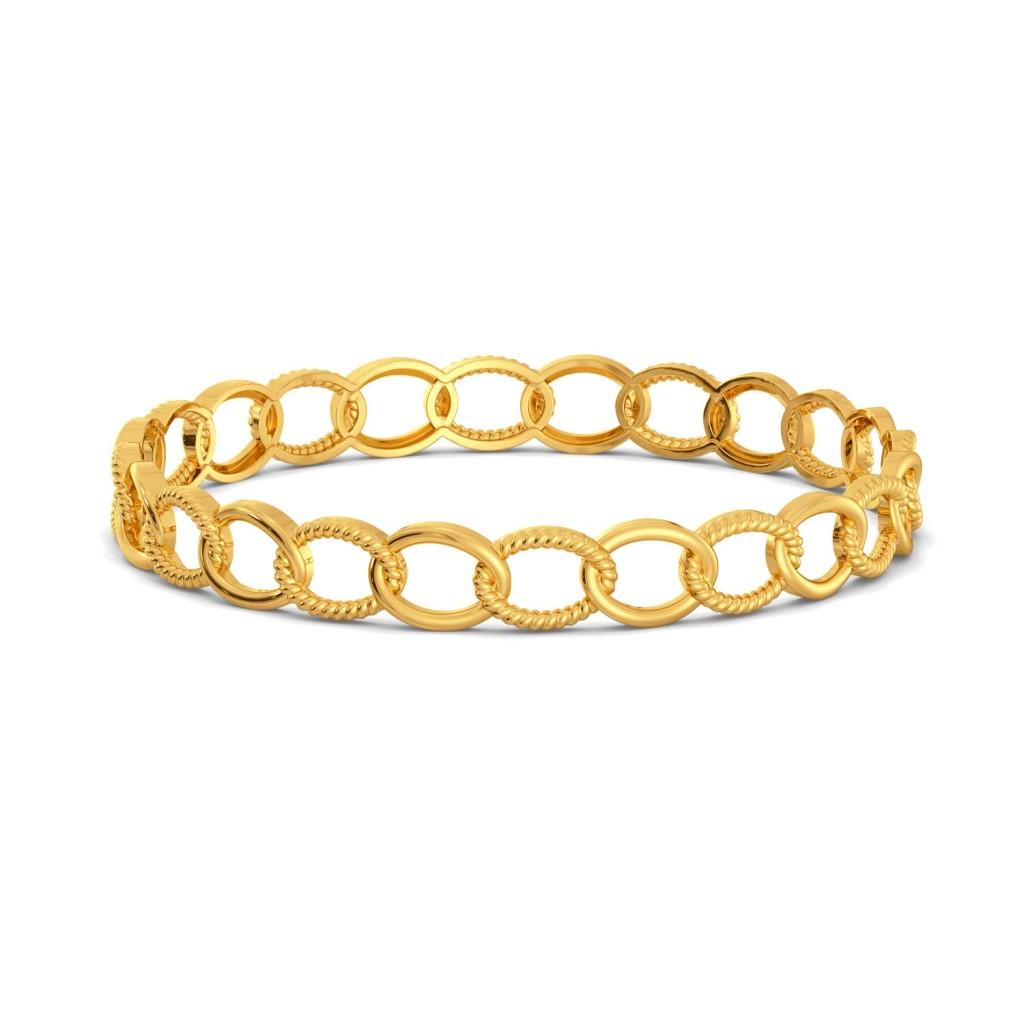 Bare Flair Gold Bangles