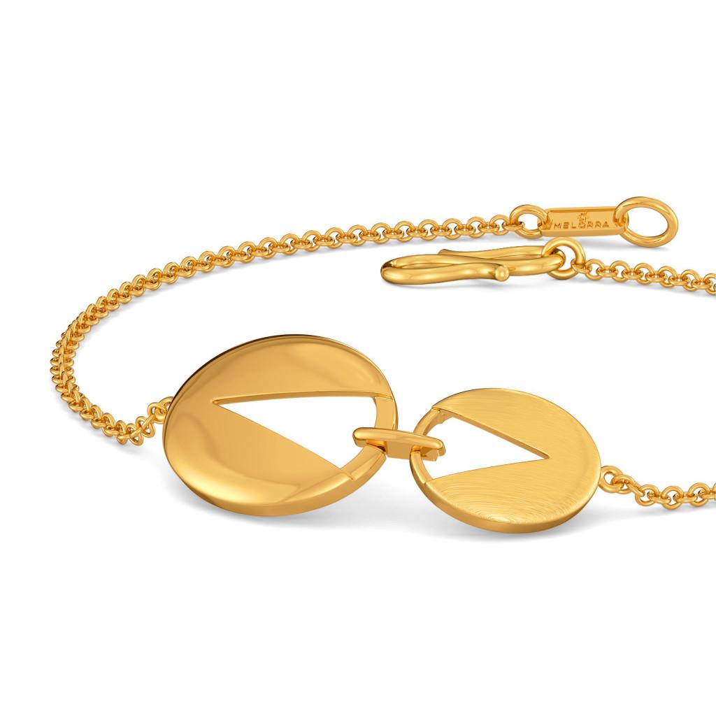 Office Sequins Gold Bracelets