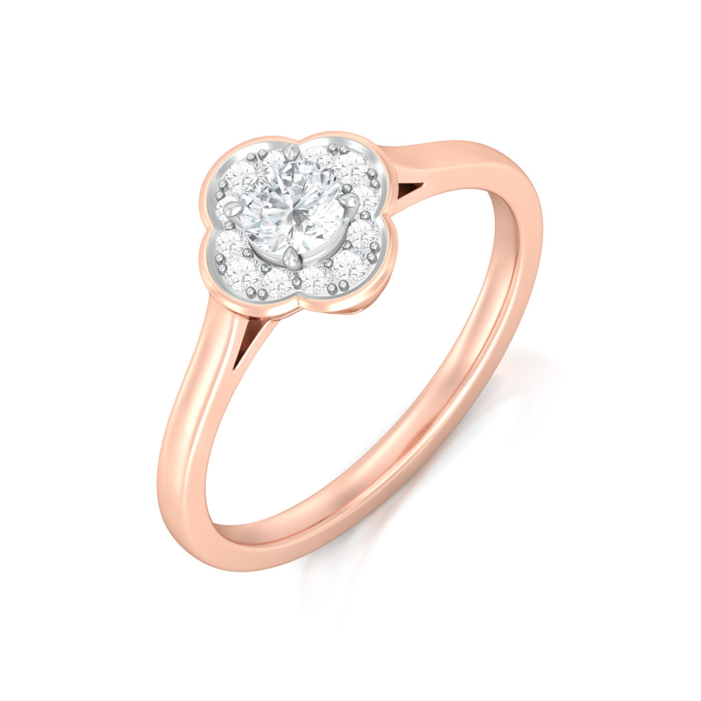 Eternity Blossoms Diamond Rings