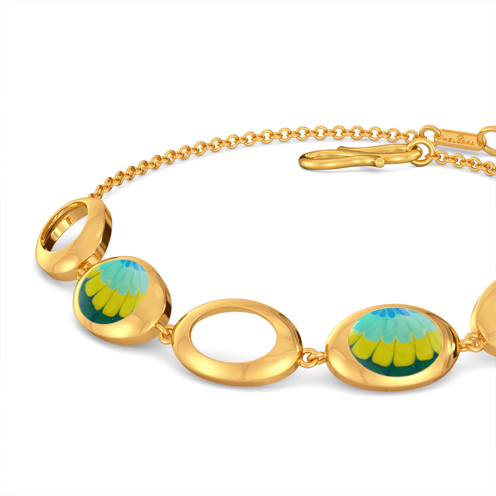 Hippie Hit Gold Bracelets