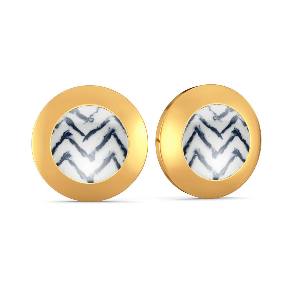 Hippie High Gold Earrings