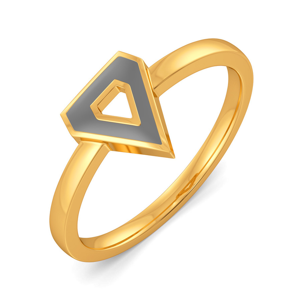 Greydefined Style Gold Rings