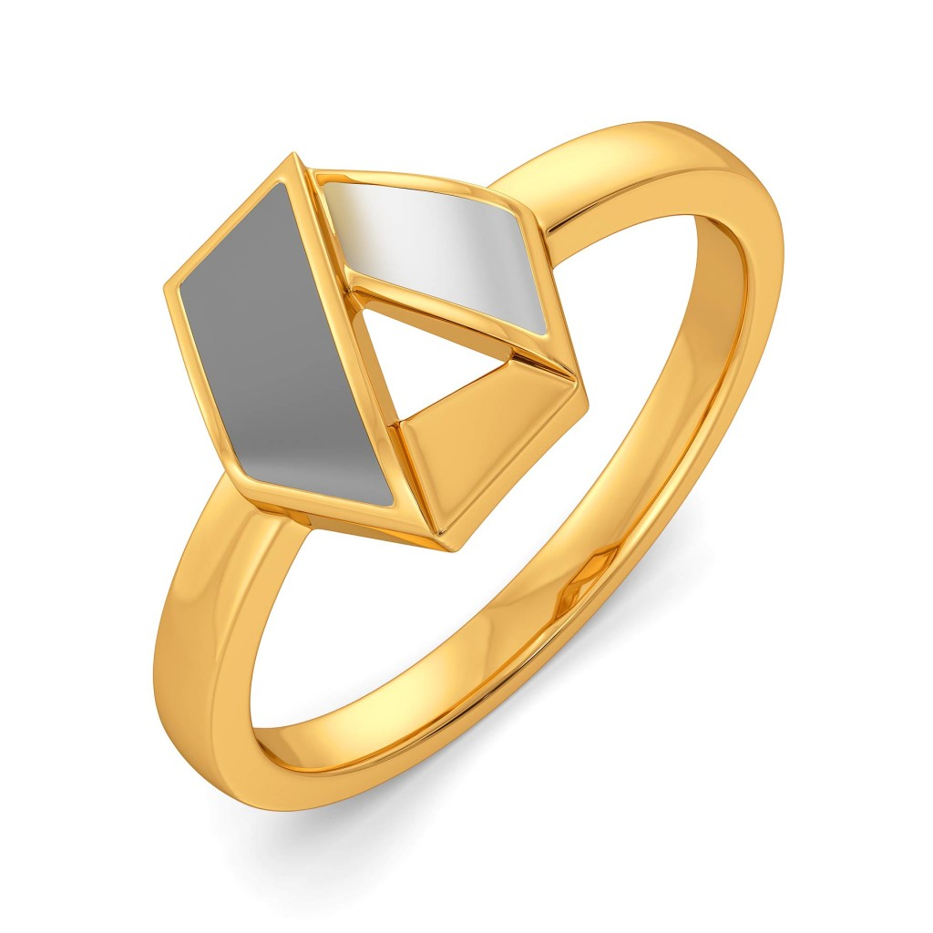 Business Triads Gold Rings