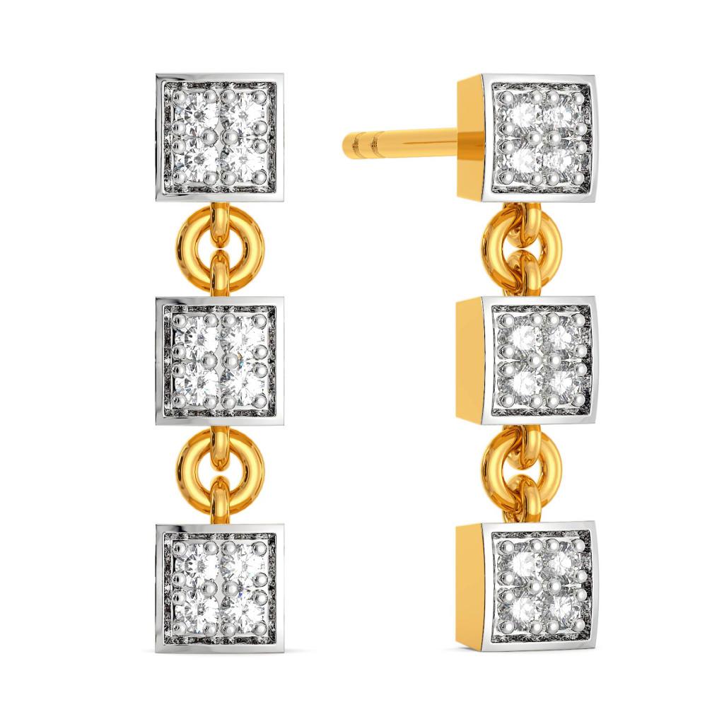 The Cubic Crew Diamond Earrings