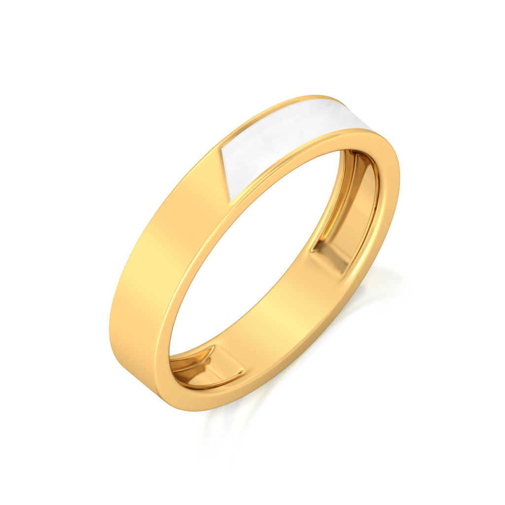 The Power Knock Gold Rings