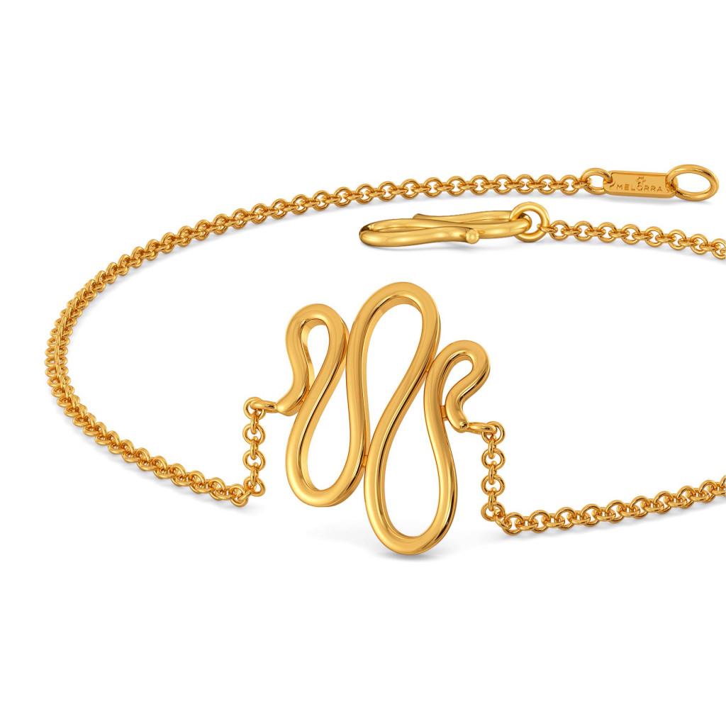 Wale Weaves Gold Bracelets