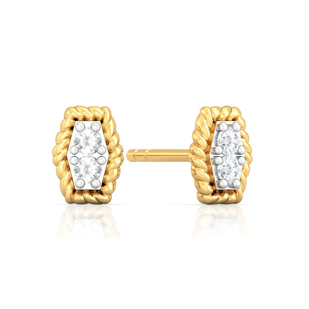 Buy Cool Classics Diamond Earrings Melorra Com