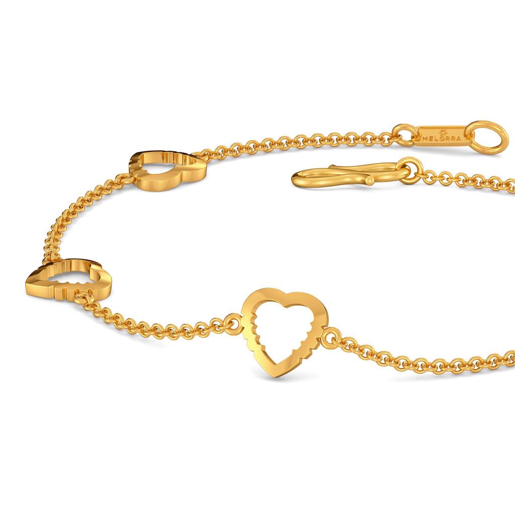 Vision O Love Gold Bracelets