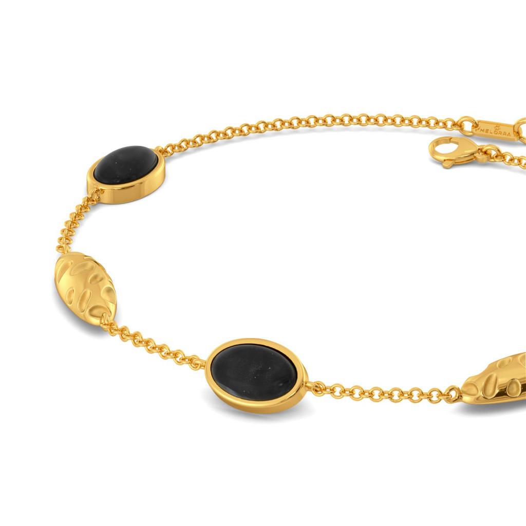 Black Panther Gemstone Bracelets