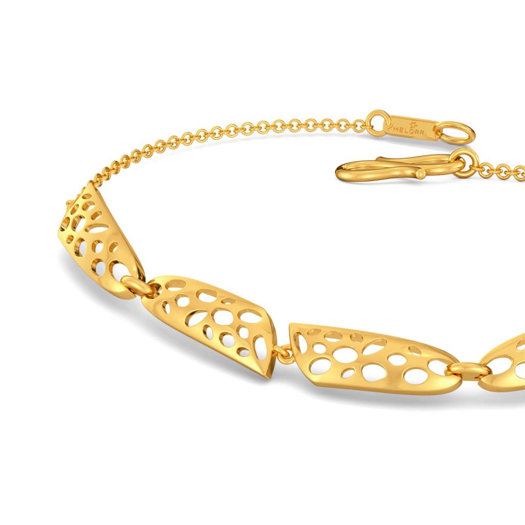 Spot The Saxe Gold Bracelets