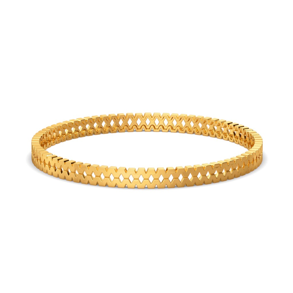 Supersized Volume Gold Bangles