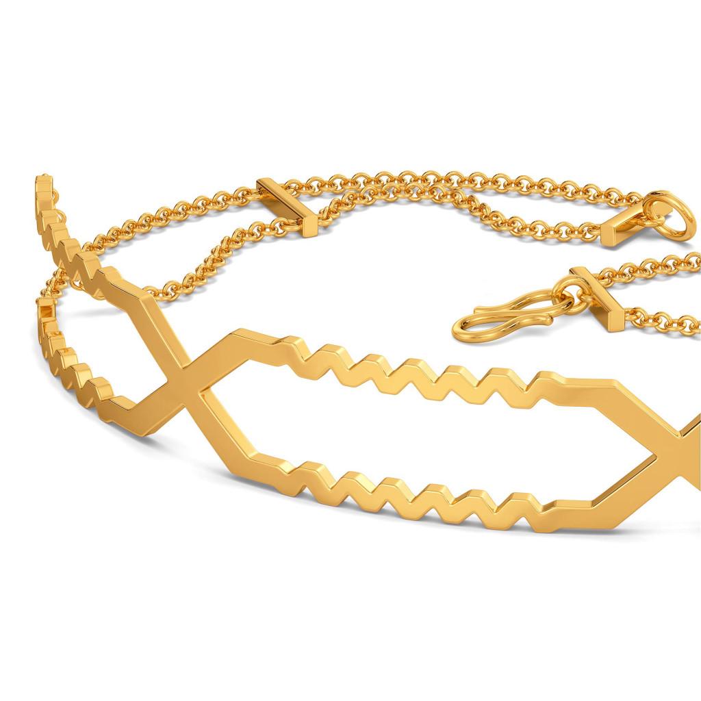 Mega Omega Gold Bracelets