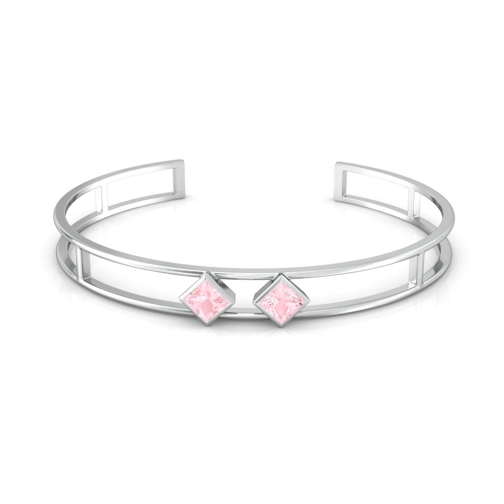 Pink Candy Gemstone Bangles