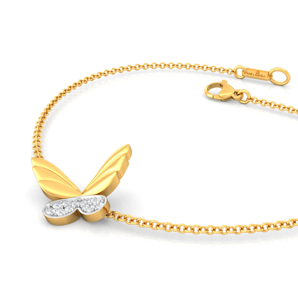 Dreams in Wings Diamond Bracelets