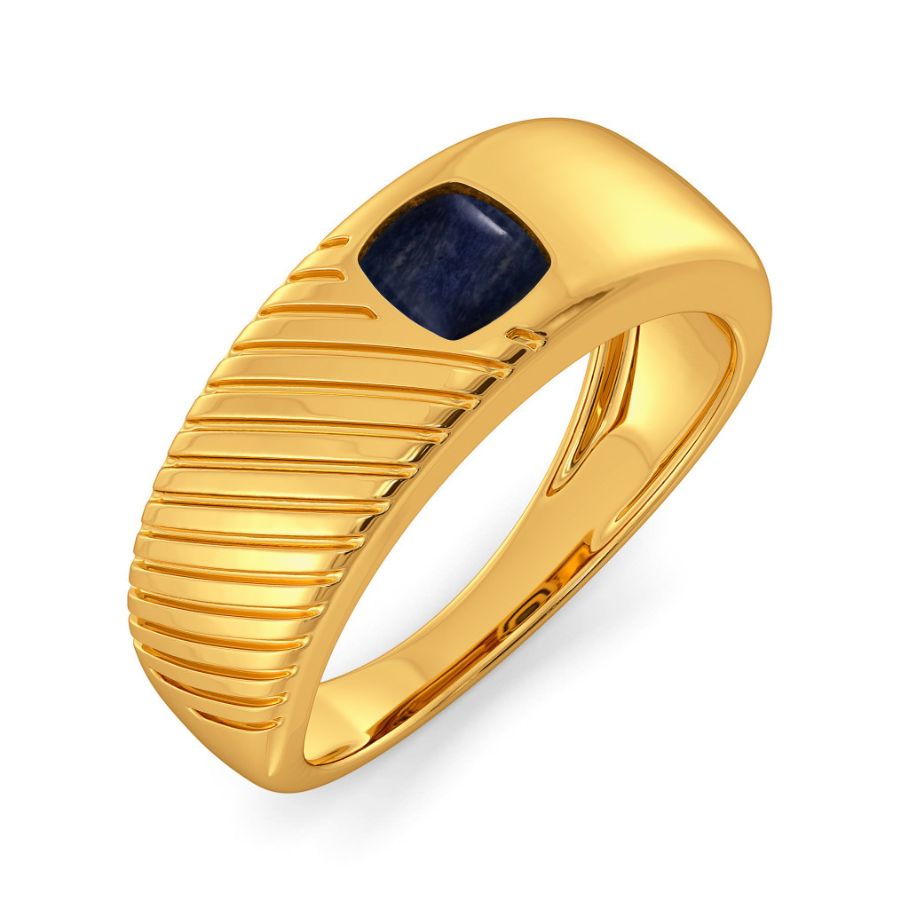 Denim Dare Gemstone Rings